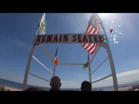 POV Coney Island Cyclone 4k w/ GoPro Hero 7 Black