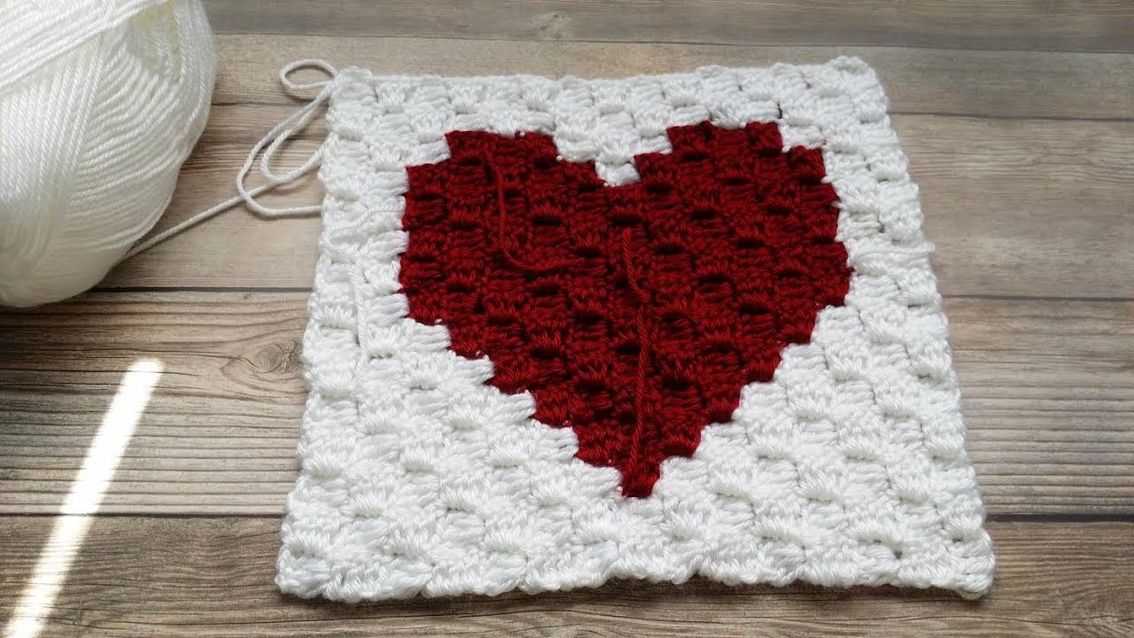 How to crochet a c2c corner to corner heart square graph video how to crochet a c2c corner to corner heart square graph video 2 youtube bankloansurffo Image collections