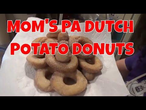 Mom's PA Dutch Potato Donuts