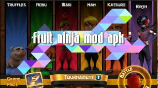 Fruit Ninja Mod Apk (link En La Descripcion)