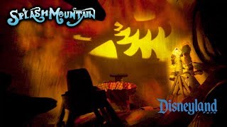 2019 Disneyland Splash Mountain at Night On Ride HD Low Light POV