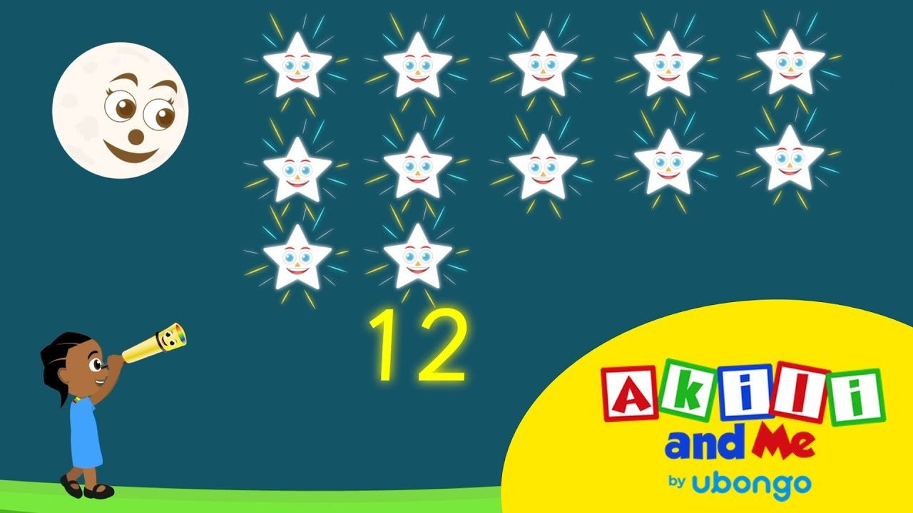 Learn to Count in Swahili with Akili and Me   African Educational Songs and Cartoons