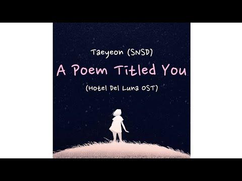 taeyeon-(태연)---a-poem-titled-you-/-그대라는-시-(hotel-del-luna-ost-part-3)-[sub-indo]