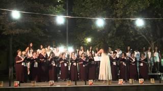 Γυναικεία - Νεανική Χορωδία Σταυρού - 2η Χορωδιακή Συνάντηση - Νέα Μάδυτος -  21-08-14 
