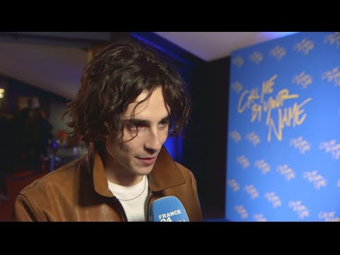 Encore: Timothée Chalamet and Armie Hammer on the red carpet in Paris