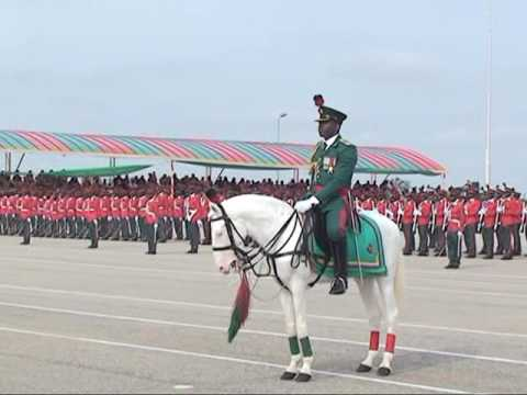 Passing Out Parade For 63 Regular Course Cadets I