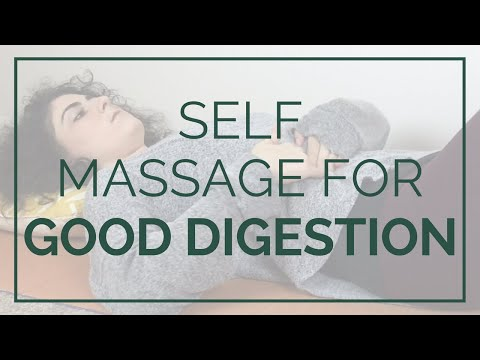 YOGA SELF MASSAGE FOR CONSTIPATION, GAS + BLOATING
