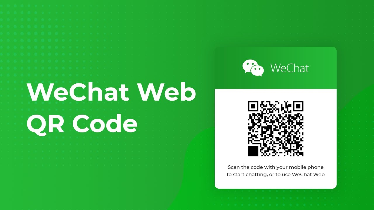 Wechat web login without phone