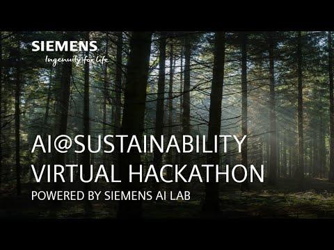 AI@Sustainability Virtual Hackathon / June 26 / 6:30 Pm CET
