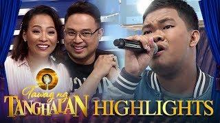 TNT Hurados are shocked with Christian Faunillan's  impersonation   Tawag ng Tanghalan