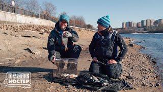 Трофейная плотва Совместная рыбалка с Сергеем Пузановым Патерностер Серия 22 Moscow Fishing