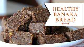 Healthy Banana Bread   The Sunday Project   Recipe