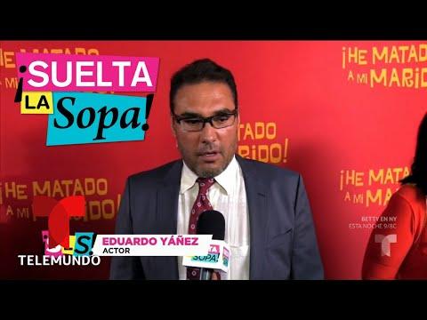 ¿Volverá Eduardo Yañez a trabajar con Angélica Rivera? | Suelta La Sopa | Entretenimiento