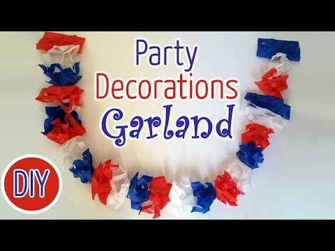 Diy National Holiday Decorations Garland - Ana | DIY Crafts
