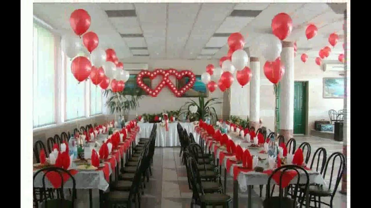 Как стильно украсить свадебный зал шарами: советы 56