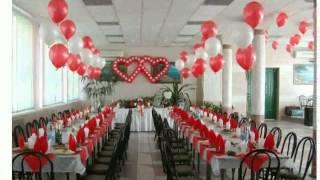 Как Украсить Зал На Свадьбу