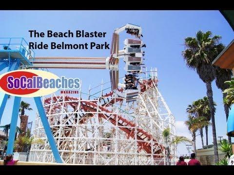 The Beach Blaster Ride San Diego Attraction