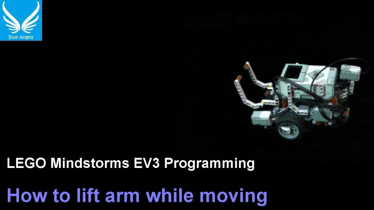 Ev3 programming 1 4 how to lift arm while moving using for Ev3 medium motor arm