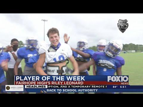 Player of the Week: Fairhope High School's Riley Leonard