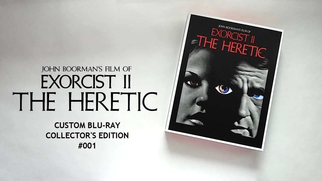 EXORCIST II: THE HERETIC Custom Blu-ray Collector's Edition #001