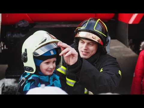 """ПСК """"ФЕНИКС"""" на месячнике пожарной безопасности в детском саду №1599"""