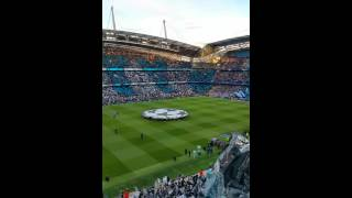 pre match atmosphere ucl semi final city vs real madrid