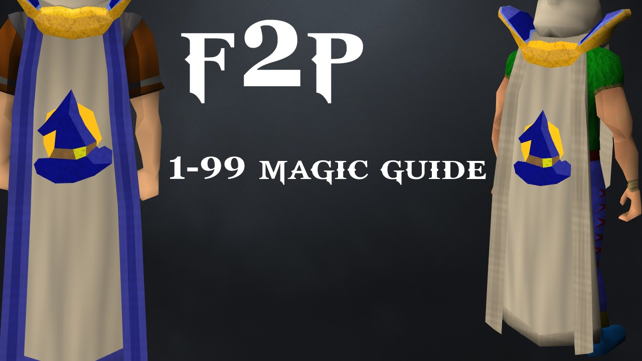 Runescape 1-99 magic guide 2017 youtube.