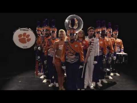 2015 Clemson University Tiger Band Entrance Video