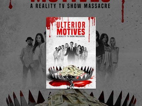 Ulterior Motives: A Reality TV  Massacre