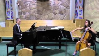 Jesu Joy of Man's Desiring - Cello & Piano