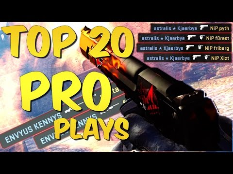 BEST PRO MOMENTS! Top 20 CS:GO Pro Plays #3