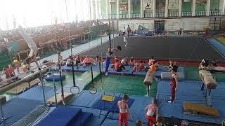 Спортивная гимнастика. 3 разряд. 28.04.18. Арефьев Егор(6)