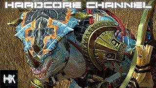 Total War Warhammer 2 - Империи смертных прохождение Hardcore Людоящеры =10= Дипломатия или война?