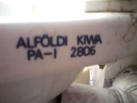 Sphinx Kiwa Toilet : Old dirty but powerful alföldi kiwa youtube
