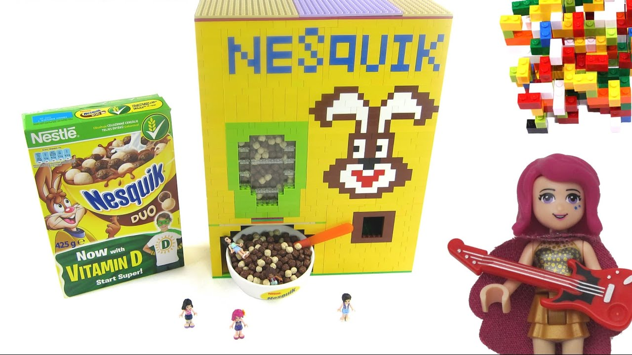 Download Lego NESQUIK with Lego Friends like Surprise by Misty Brick.