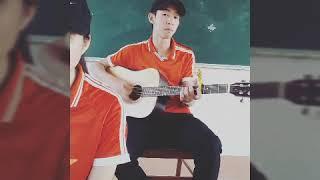Cover : Buồn Của Anh--Guitar : me --Singer : Huyền