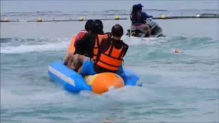 PHILIPPINES TRAVEL 2017 _ 12_ JET SKI BANANA BOAT CAVANICO RESORT DAVAO