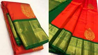 #186 Kanchipuram Pure Zari Silk sarees.