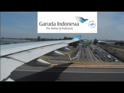 GARUDA INDONESIA / SYDNEY TO JAKARTA / AIRBUS A330-200 / MJT GLOBAL