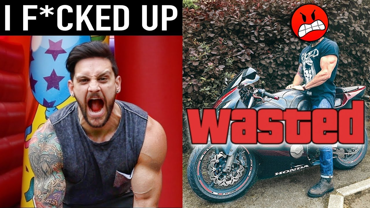 I SHOULD HAVE PAID MORE ATTENTION | Chest Muscle Building Trick & MotorBike Mishap!