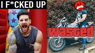 I SHOULD HAVE PAID MORE ATTENTION | Chest Muscle Building Trick & MotorBike Mishap! | Lex Fitness