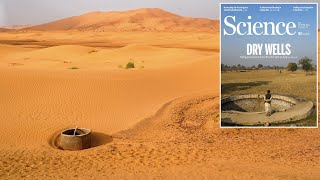 Global groundwater wells at risk of running dry