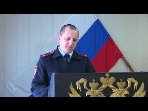 В Отделе МВД по Быковскому району состоялось подведение итогов