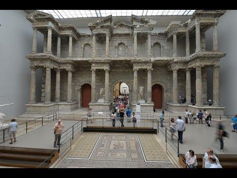 Pergamon Museum (Market Gate from Miletus) - YouTube
