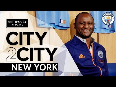 CITY2CITY | New York | Episode 2 | Patrick Vieira discusses grassroots football in New York