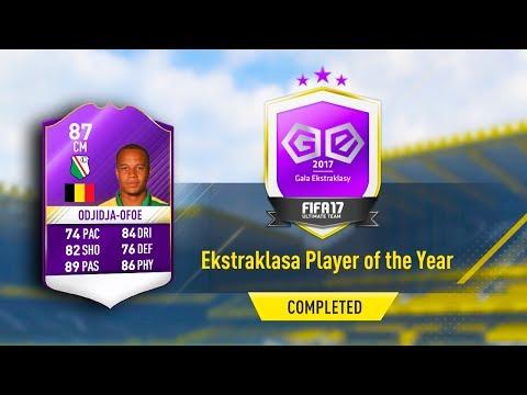 87 POTY ODJIDJA OFOE! EKSRTAKLASA PLAYER OF THE YEAR SBC! (COMPLETED/EASY) FIFA 17 ULTIMATE TEAM
