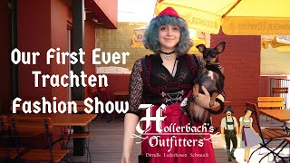 Lederhosen, Dirndls and Dogs -  Hollerbach's  Outfitters Virtual Fashion Show at the Biergarten
