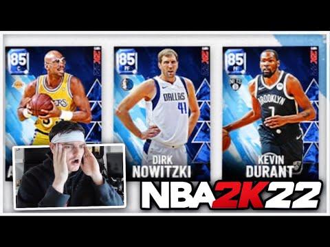 A FIRST LOOK AT NBA 2K22 MyTEAM CARDS!! DO THEY LOOK AS GOOD AS NBA 2K21 MyTEAM??