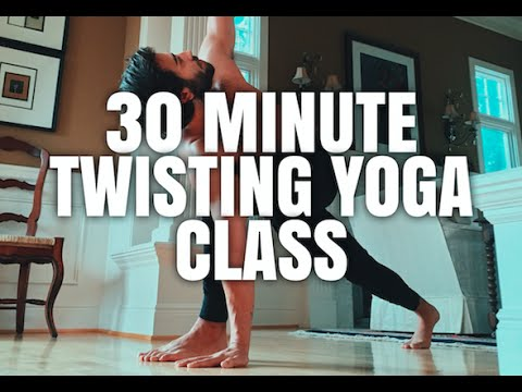 30 Minute Twisting Yoga Practice | Yoga with Patrick Beach