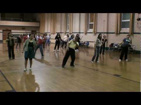 Fire Burning On The Dance Floor - Walk Through